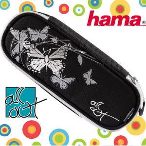 Piórnik ETUI HAMA All Out BUTTERFLY SILVER
