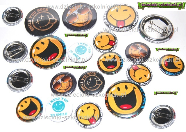 smiley pins