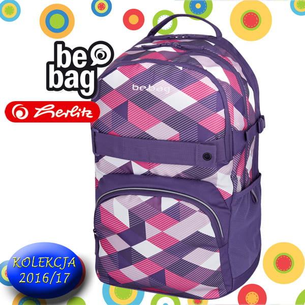 8a2e41115c5d3 Plecak szkolny Herlitz Be.Bag CUBE Purple Checked. 11410339_PLECAK  SZKOLNY_BE_BAG CUBE_Purple_checked_a.jpg. 11410339_PLECAK SZKOLNY_BE_BAG ...
