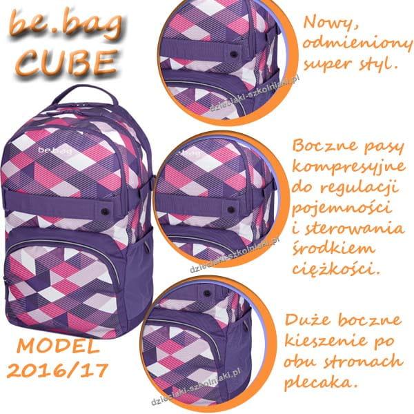 877ec04e6a98b 11410339_PLECAK SZKOLNY_BE_BAG CUBE_Purple_checked_a.jpg;  11410115_herlitz_cube_purple_checked_opis1.jpg ...