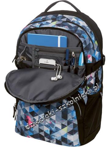 6569fe8409191 Plecak szkolny Be.Bag CUBE Snowboard Herlitz - Dzieciaki Szkolniaki