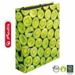 Segregator Herlitz maX.file A4/8cm KIWI World of Fruit