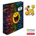 Segregator A4/8cm Smiley Disco maX.file Herlitz