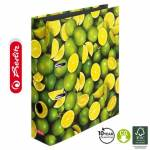 Segregator Herlitz maX.file A4/8cm World of Fruit LIMONKI