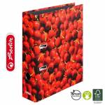 Segregator Herlitz maX.file A4/8cm WIŚNIE World of Fruit