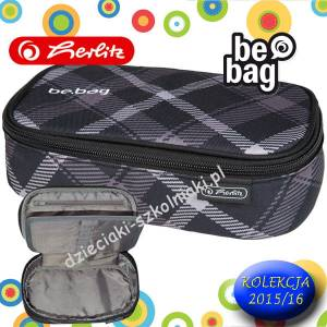 Piórnik Etui HERLITZ be.bag BEAT BOX BLACK CHECKED