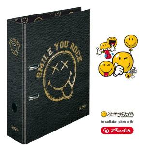 Segregator A4 Smiley Golden Rock maX.file Herlitz