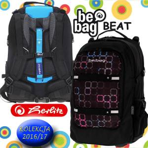 6723135097f9b Plecak szkolny Herlitz Be.Bag BEAT SQUARES 2016/17