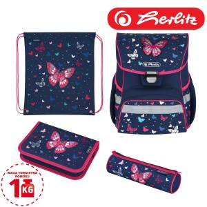 Tornister szkolny Herlitz Loop Plus 4w1 Butterfly