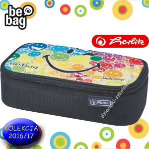 Piórnik HERLITZ be.bag BEAT BOX Smiley Rainbow