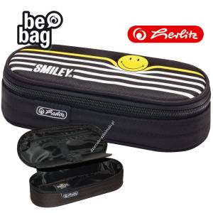 Piórnik etui Herlitz Smiley Black&Yellow Stripes