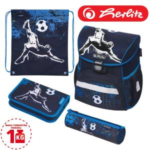 Tornister szkolny Herlitz Loop Plus 4w1 KICK IT SOCCER