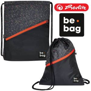Worek sport HERLITZ be.bag be.daily FLOWER WALL