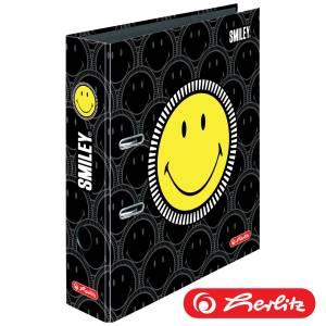 Segregator A4/8cm Smiley Black Faces Herlitz