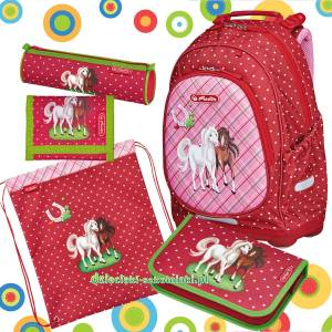 09639184bed43 Plecak Herlitz BLISS Horses PLUS zestaw 5w1n