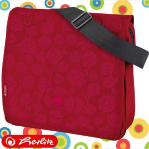 Torba kurierska HERLITZ BE.BAG Red Roses