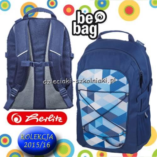 42e9a62df064e Plecak szkolny HERLITZ Be.bag Fellow BLUE CHECKED 2015 16 ...