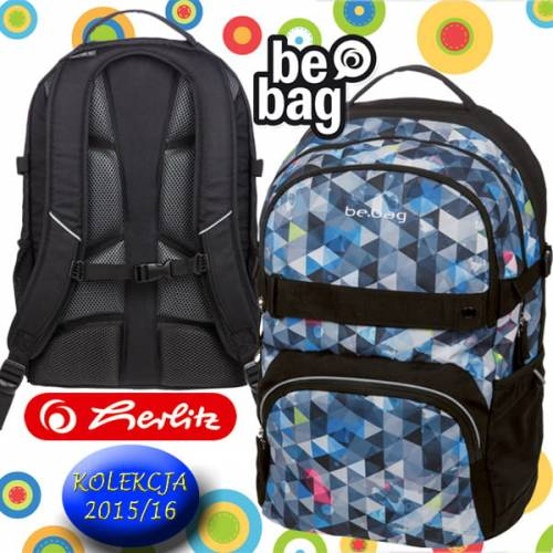 cc6837c4e86be Plecak szkolny Be.Bag CUBE Snowboard Herlitz. 11410115_PLECAK SZK_BE_BAG  CUBE SNOWBOARD_a.jpg