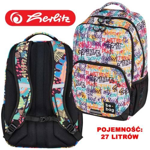 0fe86ddac1dd9 Plecak Herlitz be.bag Be.Freestyle STREET ART No2.  24800242_plecak_szkolny_młodzieżowy_Herlitz  be_bag_Be_Freestyle_motywStreet_Art_No2.jpg