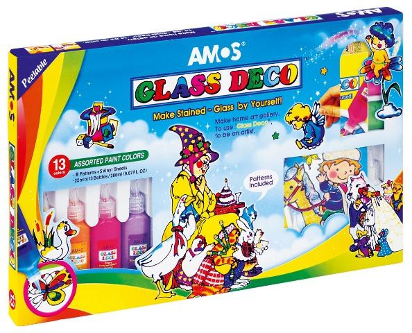 farby witrażowe Amos