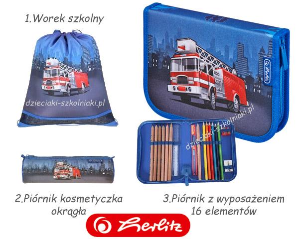 Herlitz Midi Plus FIRE TRUCK