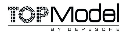 Top Model by Depesche Logo