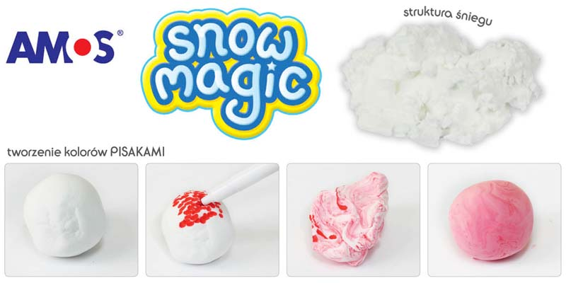 Amos Magic Snow
